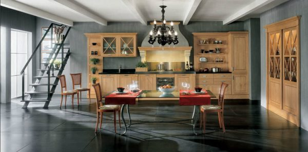 Classical Traditional Kitchen Gallery Somelier